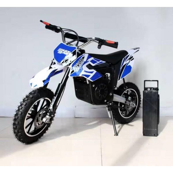 Детский электромотобайк GreenCamel Dirt Bike DB300 800W